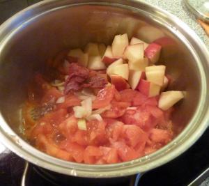 Apfelketchup Rezept