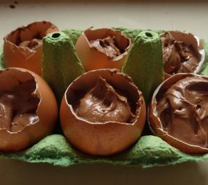 Süße Schokoladeneier