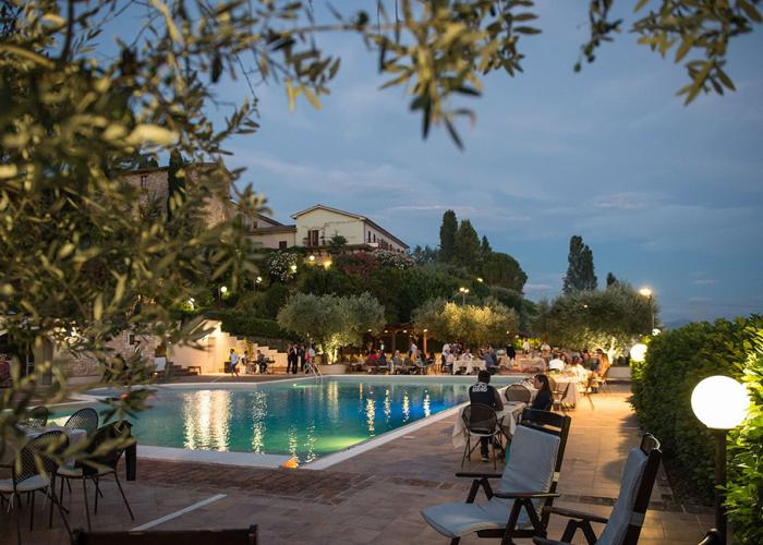 Hotel Bramante in Umbrien, Italien