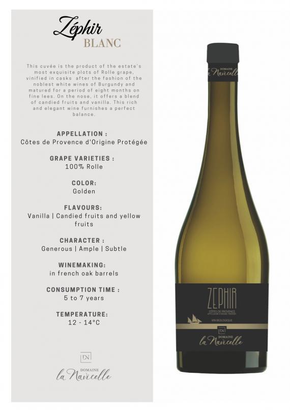 Biowein Weisswein Provence