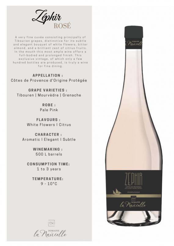 Rose aus biodynamischer Produktion Provence