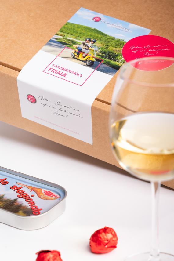 Weingeschenk für Weißweinliebhaber