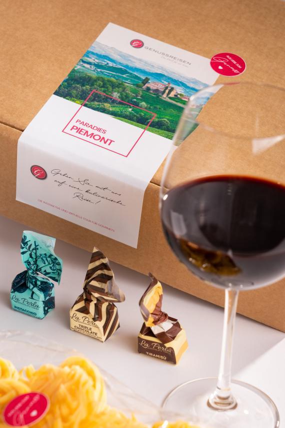 Genussbox Piemont mit Trüffel